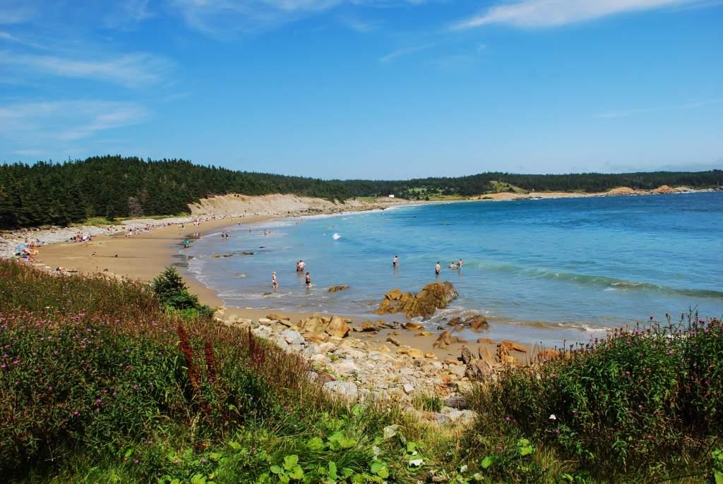 Louisbourg Beach, Nova Scotia