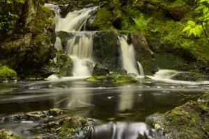 Majestic Nature, Waterfalls in Louisbourg, Nova Scotia, Canada